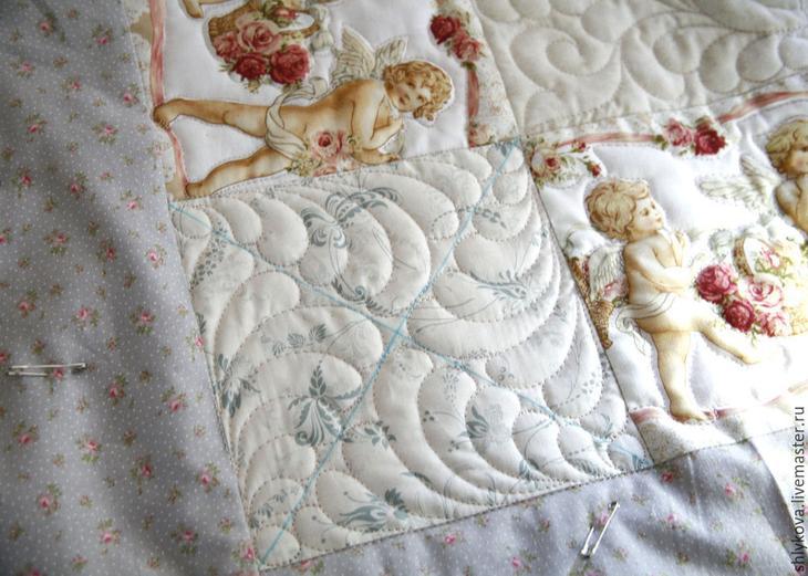 как сшить одеялко
