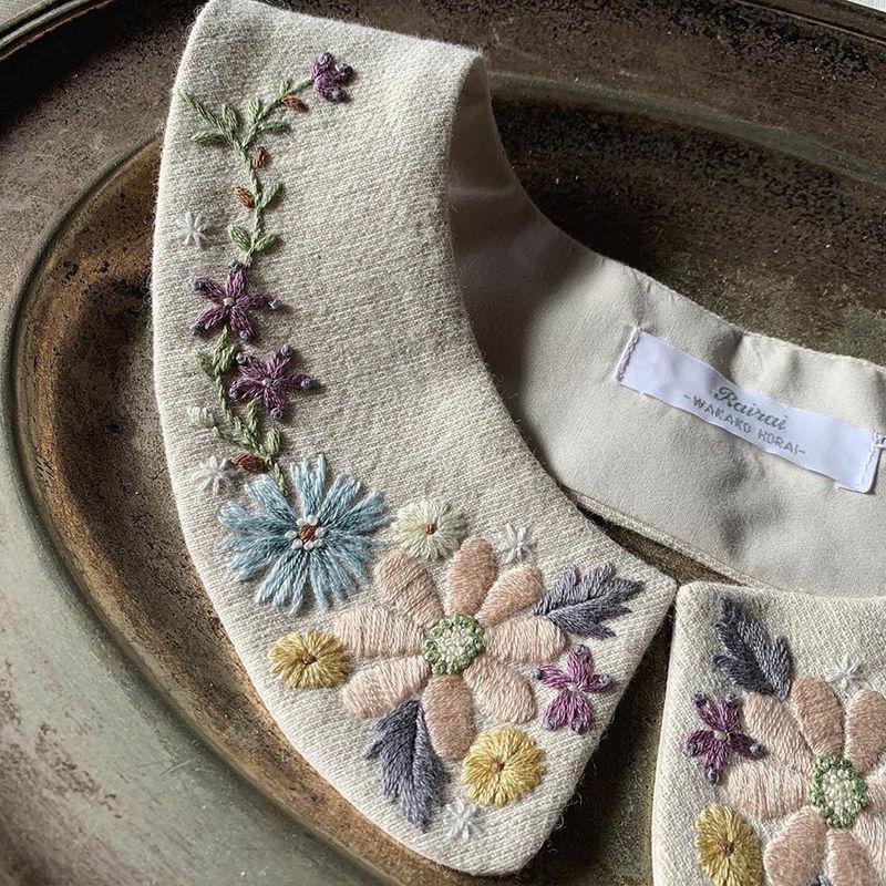 Фото - 12 Невыносимая нежность бытия: потрясающая вышивка Wakako Horai
