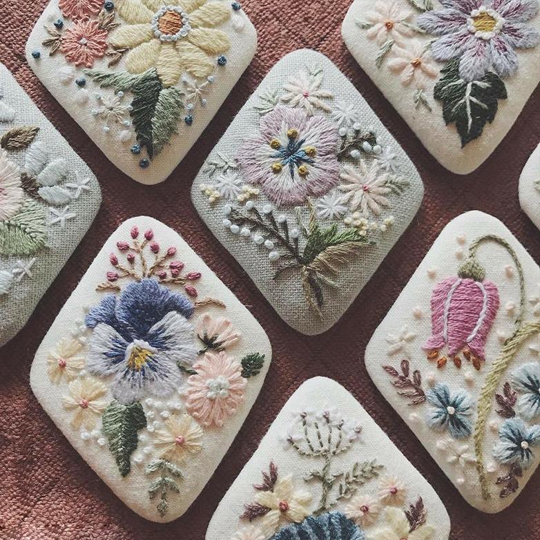 Фото - 24 Невыносимая нежность бытия: потрясающая вышивка Wakako Horai