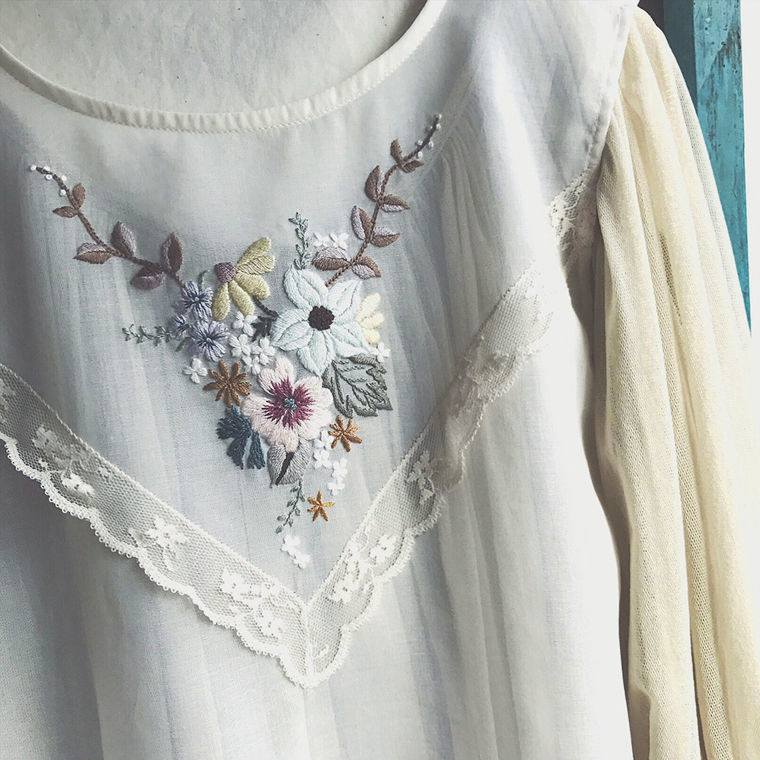 Фото - 27 Невыносимая нежность бытия: потрясающая вышивка Wakako Horai